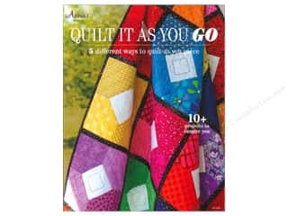 Annies Attic $4 - $5: Annie's Quilt It As You Go Book
