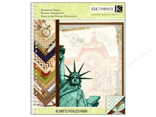 K&Co Paper Pad Tim Coffey Travel 8.5x11 Designer