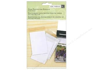 "Scrapbook / Photo Albums Pockets & Page Protectors: K&Company Page Protector Refill Kit Photo Album 4""x 6"" 10pc"
