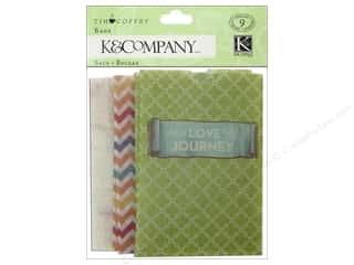 Queen & Company Gifts & Giftwrap: K&Company Embellishments Tim Coffey Travel Printed Bags Mini