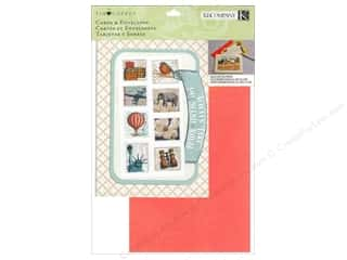 Note Cards Vacations: K&Company Card & Envelopes Tim Coffey Travel Kit