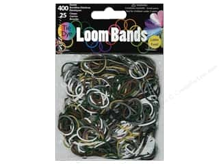 Bands: Midwest Design Loom Band Camo Tie-Dye 425pc