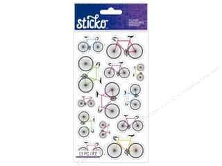 EK Sticko Sticker Colorful Bicycles