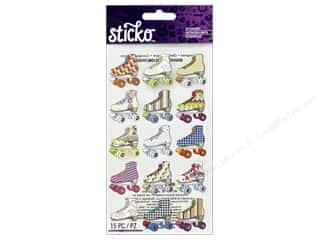 sticko: EK Sticko Stickers Bright Roller Skates