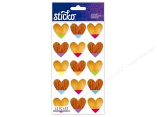 EK Sticko Sticker Color Dipped Hearts