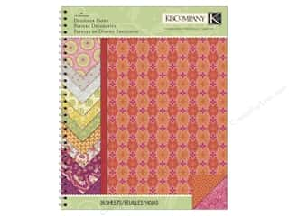 "K & Company Designer Papers & Cardstock: K&Company Paper Pad Lily Ashbury Raspberry Lemonade 8.5""x 11"" Designer"