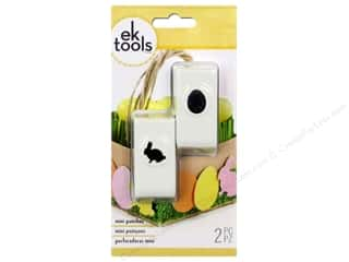 EK Success 12 in: EK Paper Shapers Punch Mini Bunny & Egg 2pc