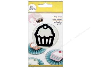 EK Success inches: EK Paper Shapers Punch Large Cupcake