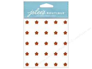 Jolee's Boutique Stickers Mini Flower Gems Topaz