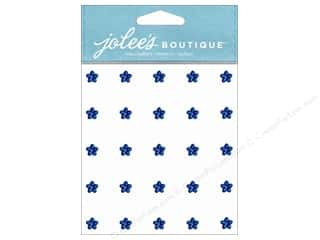 EK Success Rhinestones: Jolee's Boutique Stickers Mini Flower Gems Sapphire
