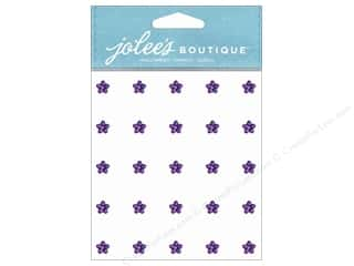 Jolee's Boutique Stickers Mini Flower Gems Amethyst