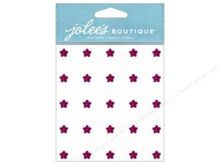 Jolee's Boutique Stickers Mini Flower Gems Spinel