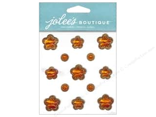 theme stickers  floral: Jolee's Boutique Stickers Floral Prizm Topaz