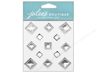 EK Success Rhinestones: Jolee's Boutique Stickers Pyramid Gem Diamond