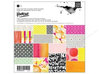 BasicGrey Designer Papers & Cardstock: BasicGrey Paper Pad 6 x 6 in. Highline 36 pc.