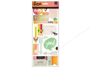 BasicGrey Chipboard Shapes Stickers Highline