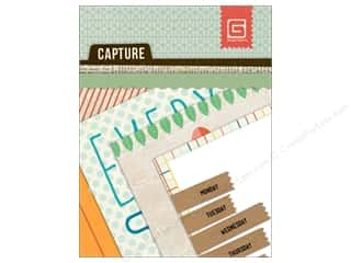 BasicGrey Designer Papers & Cardstock: BasicGrey Capture Mini Snippets 24 pc.
