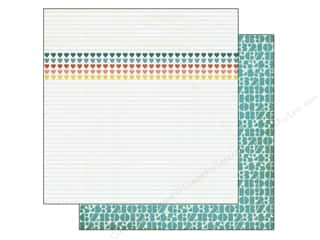 Note Cards ABC & 123: BasicGrey 12 x 12 in. Paper Capture Noted (25 pieces)