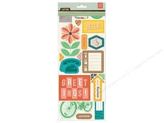 BasicGrey Chipboard Shapes Stickers Capture