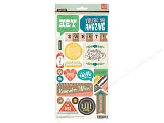 Sizzling Summer Sale BasicGrey: BasicGrey Title Stickers Capture