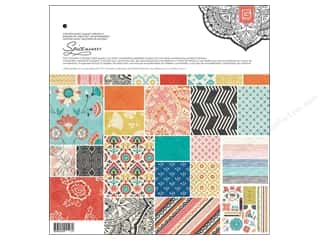 Border Stickers / Corner Stickers: BasicGrey Collection Pack 12 x 12 in. Spice Market