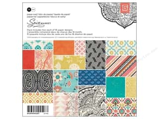 BasicGrey inches: BasicGrey Paper Pad 6 x 6 in. Spice Market 36 pc.