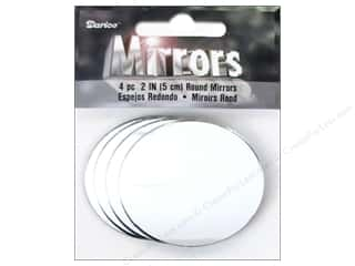 Magnets Home Decor: Darice Mirrors Round 2 in. 4 pc. (3 packages)