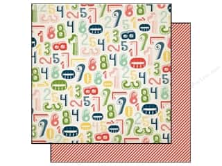Carta Bella 12 x 12 in. Paper Numbers (25 piece)