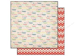Carta Bella 12 x 12 in. Paper Birthday Words (25 piece)