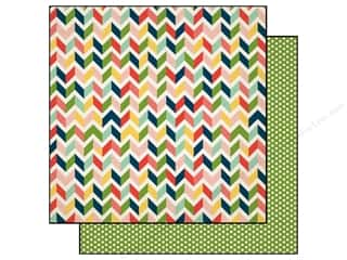 Carta Bella Paper 12x12 It's A Celebration Chevron (25 piece)