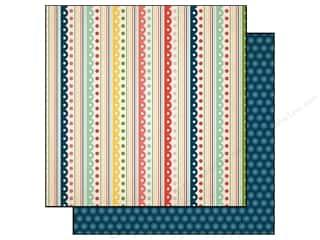 Carta Bella Borders: Carta Bella 12 x 12 in. Paper It's A Celebration Festive Stripe (25 pieces)