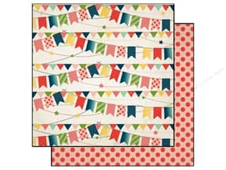 Party & Celebrations Papers: Carta Bella 12 x 12 in. Paper It's A Celebration Birthday Banner (25 pieces)