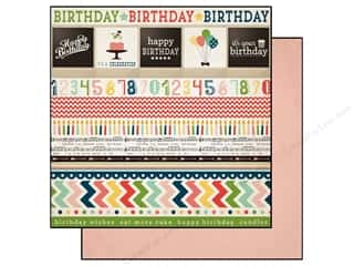 Carta Bella Paper 12x12 It's A Celebration Border (25 piece)