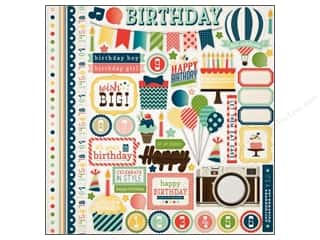 Carta Bella Theme Stickers / Collection Stickers: Carta Bella Sticker 12 x 12 in. It's A Celebration Element (15 pieces)
