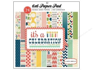 Carta Bella 6 x 6 in. Paper Pad It's A Celebration