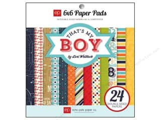 Echo Park Paper Pad 6x6 That's My Boy