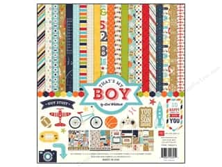 Echo Park 12 x 12 in. That's My Boy Collection Kit