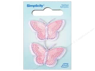 Wrights Iron-On Appliques: Simplicity Iron On Applique Small Butterflies