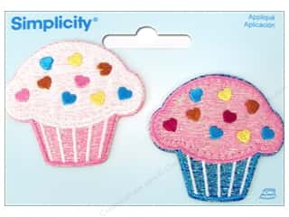 Food Length: Simplicity Iron On Applique Cupcakes