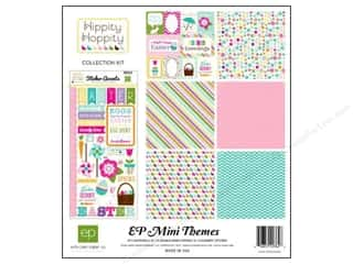 Crafting Kits Easter: Echo Park 12 x 12 in. Hippity Hoppity Collection Kit