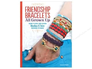 Embroidery $4 - $10: Design Originals Friendship Bracelets All Grown Up Book by Suzanne McNeill