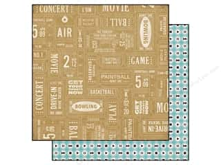 Echo Park 12 x 12 in. Paper That's My Boy Admit One (25 piece)