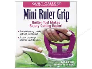 Handles: Quilt Gallery Ruler Grip Mini