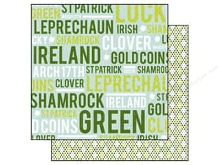 Echo Park 12 x 12 in. St Patrick's Day Words (15 piece)