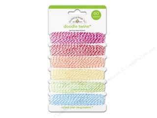 button Doodlebug: Doodlebug Doodle Twine Springtime Assortment 6 pc.