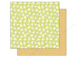 Doodlebug Paper 12x12 Springtime Cottontails (25 piece)