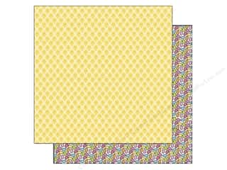 Doodlebug 12 in: Doodlebug Paper 12 x 12 in. Springtime Chickies (25 pieces)