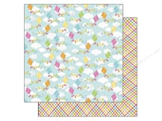 Crafting Kits Easter: Doodlebug Paper 12 x 12 in. Springtime Colorful Kites (25 pieces)