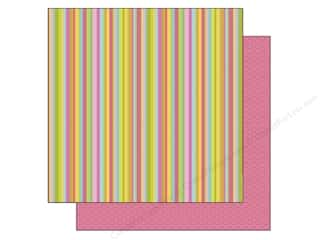 Doodlebug Paper 12 x 12 in. Rainbow Stripes (25 piece)