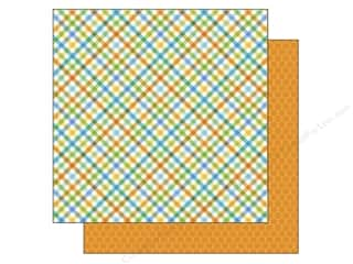 Doodlebug Paper 12 x 12 in.Party Plaid (25 piece)
